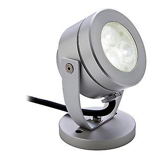 Firstlight-LED 3 luz impermeable Wall & Spike Spot aluminio IP68-8241AL