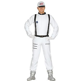 Mens Astronaut Spaceman Fancy Dress kostuum