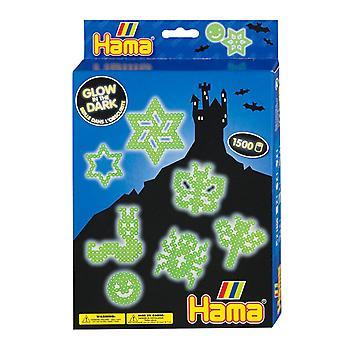 Hama Beads - Glow in the Dark Beads (Midi Beads)