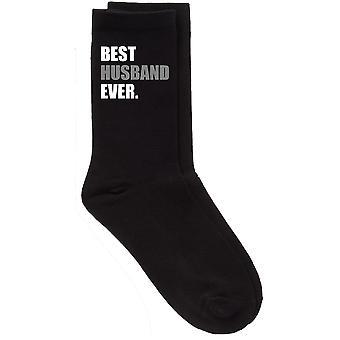 Mens beste mann noensinne V2 svart kalv sokker