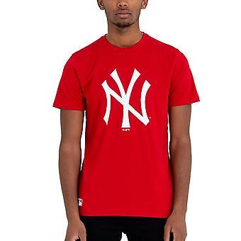 New Era Basic Shirt-MLB New York Yankees Red