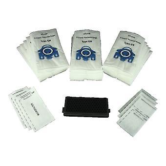 2 x Miele S4281 Sf aac50 Anti allergi Hepa Filteraktiv Air