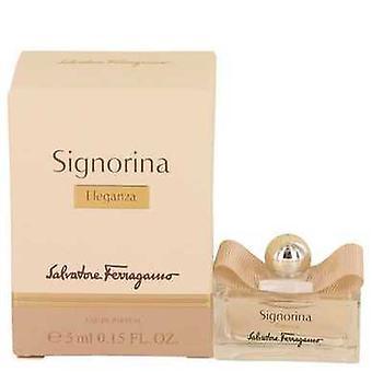 Signorina Eleganza de către Salvatore Ferragamo mini EDP .15 oz (femei) V728-538104