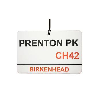 Tranmere Rovers / Prenton Park Street firmar ambientador de aire