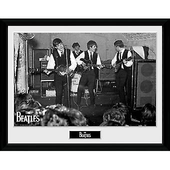 Beatles i grottan 3 inramade Collector Print 40x30cm