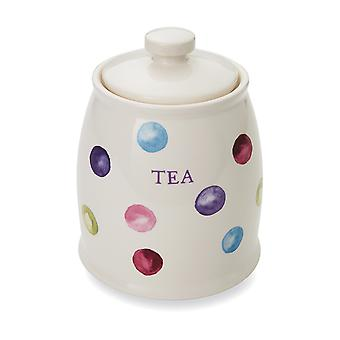 Cooksmart Spotty Dotty Tea Canister