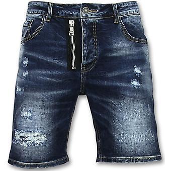 Jeans Short - Pantalones de tres cuartos - J975 - Azul