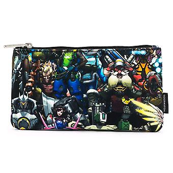 Overwatch Collage Print Pencil Case