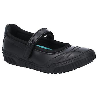 Hush Cachorros Niñas Amelia Senior Cuero Mary Jane Zapatos