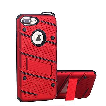 iPhone 8 och 7 Mål Röd - Armor Case