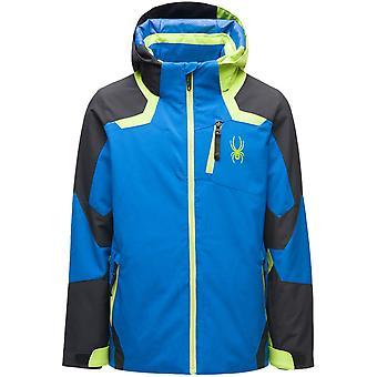 Spyder LEADER 男孩 重新 普雷 普里马洛夫特 滑雪夹克 蓝色