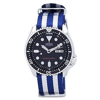 Seiko Automatic Diver's 200m Nato Strap Skx007k1-nato2 Men's Watch