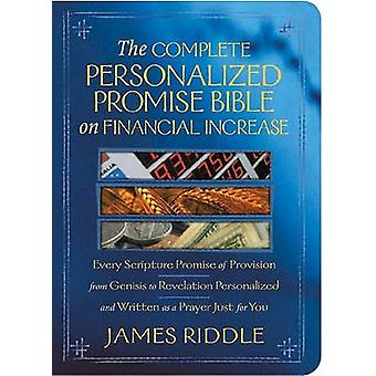 The Complete Personalized Promise Bible on Financial Increase - Every
