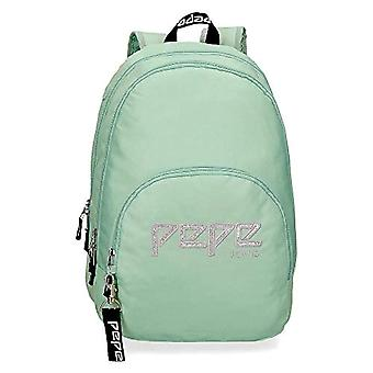 Pepe Jeans Uma Backpack - 44 cm - 20.46 liters - Blue (Green)