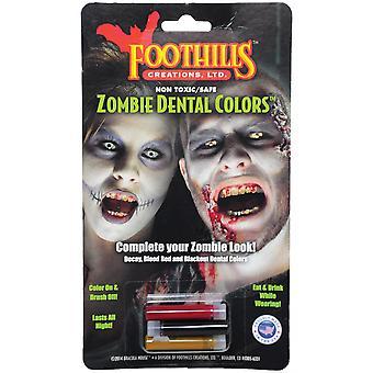 Kit de Colores Dentales Zombie