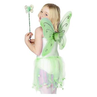 Piger sommerfugl vinger Fancy kjole tilbehør