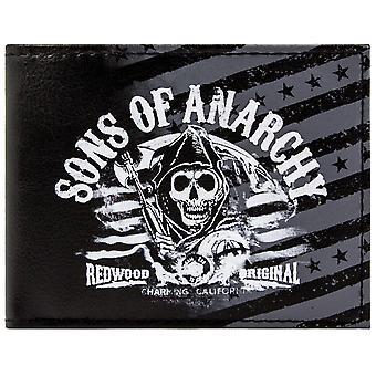 Fox Sons of Anarchy Redwood ID & Card Bi-Fold Wallet