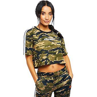 Ellesse Noelia Crop T-shirt Camo 05