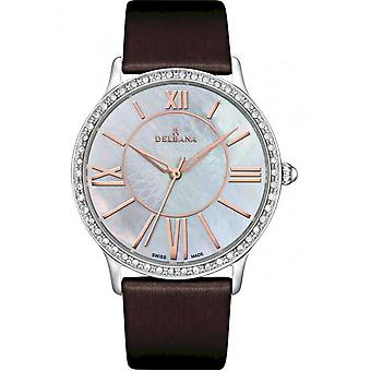 Delbana - Wristwatch - Ladies - Dress Collection - 41611.591.1.519 - Paris