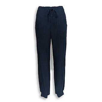 Anybody Women's Pants XXS Cozy Knit Jogger Navy Blue A349792