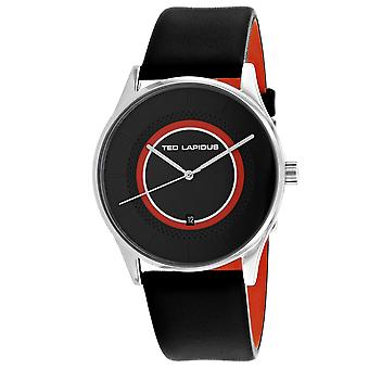 Ted Lapidus Men-apos;s Classic Black Dial Watch - 5131901