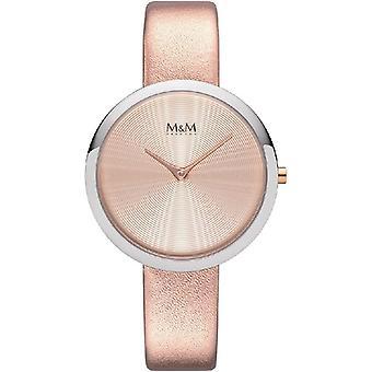 M & M Tyskland M11944-949 cirkel linje damer klocka