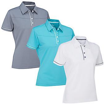 Stuburt Womens Urban Casual Breathable DRI-Back Contrast Polo Shirt
