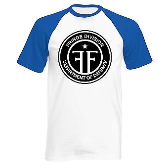 T-shirt da baseball della divisione Fringe