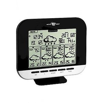 TFA - Satellite-based radio weather station GALA 35.5055.01.IT - black