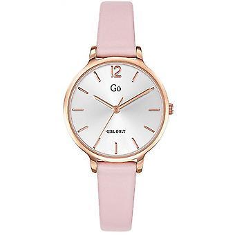 Watch Go Girl alleen 699946-stalen doos dor roze armband silicone Rose Nacr Nacr vrouwen