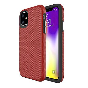 For iPhone 11 Case Armour Shockproof Strong Protective Light Slim Cover, Red