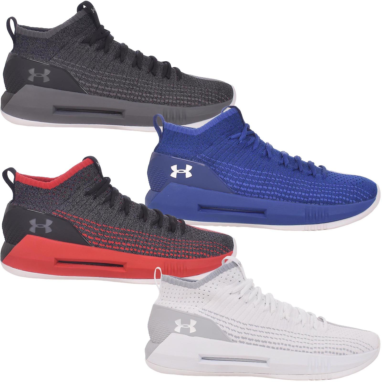 Under Armour Mens Ua Heat Seeker Basketball Shoes 11 UK