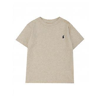 Tricou Polo Ralph Lauren pentru copii cu mâneci scurte, cu decolteu