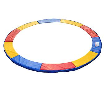 HOMCOM 10ft Trampoline Pads Safety Pad Surround Trampoline Replacement Spare Multi Coloured