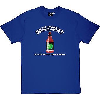 Somerset Royal Blue miesten ' s T-paita