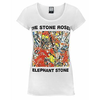 Amplified Stone Roses Elephant Stone White Women's T-Shirt