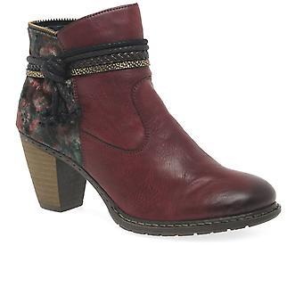 أحذية الكاحل عارضة النسائي Rieker بارما