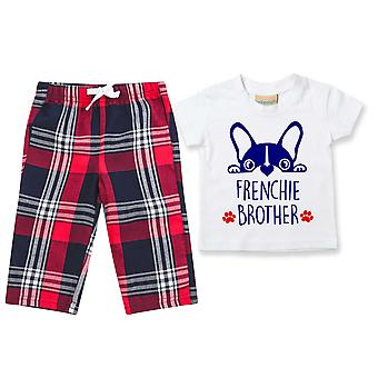 Frenchie Brother Tartan Housut Pyjamat