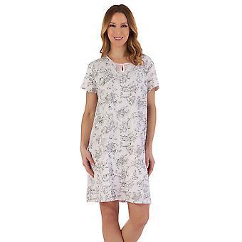 Slenderella ND55121 Women's Floral Cotton Nightdress