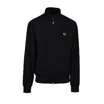 Fred Perry Sharp Harrington Jacket Black