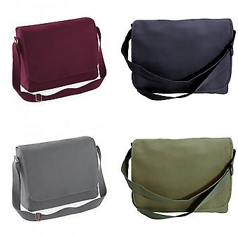 BagBase Classic Schultergurt Canvas Messengerbag (2 Stück)