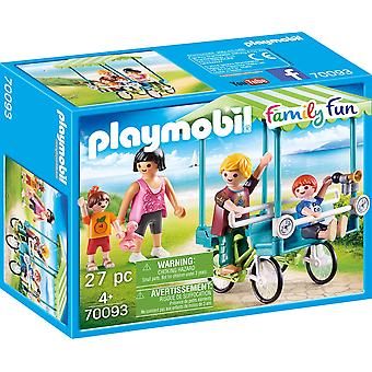 Playmobil 70093 Family Fun Bicycle 27PC Playset