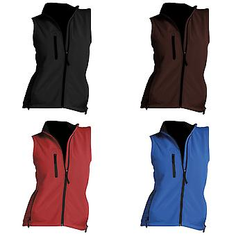 SOLS Womens/Ladies Rallye Soft Shell Bodywarmer Jacket