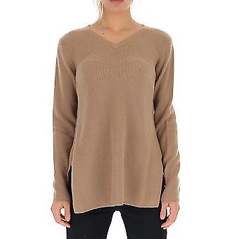 -apos;S Max Mara 93660693000133016 Femmes-apos;s Beige Wool Sweater