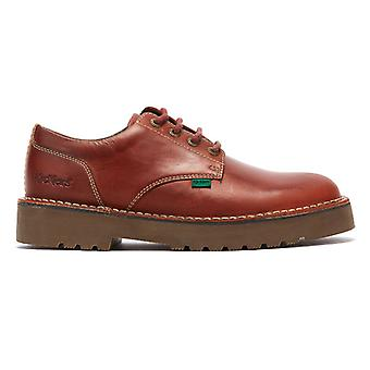 Kickers Daltrey Derby Mens Red Shoes