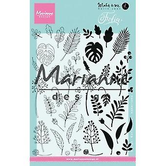 Marianne Design Clear Stamp - Folia KJ1723