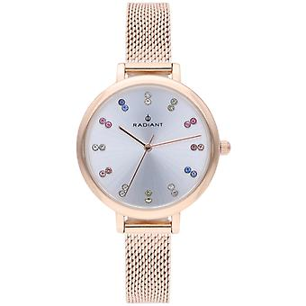 Radiant Selene Quartz Analog Woman Watch with RA513602 Gold Plated Stainless Steel Bracelet