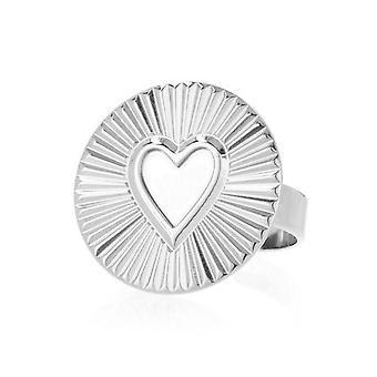 Ring Ley Nat day sun silver heart