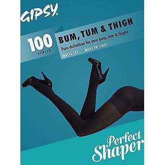 Gipsy 100 Denier Tum, Bum & Thigh Opaque Shaper Tights
