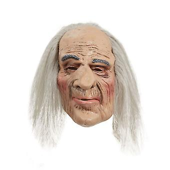 Creepy Old Man maska + włosy